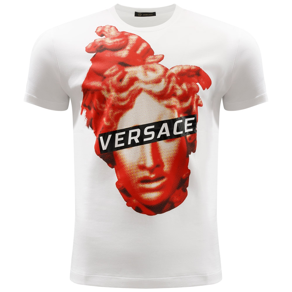 5c396abe7 VERSACE - Medusa Head T-Shirt