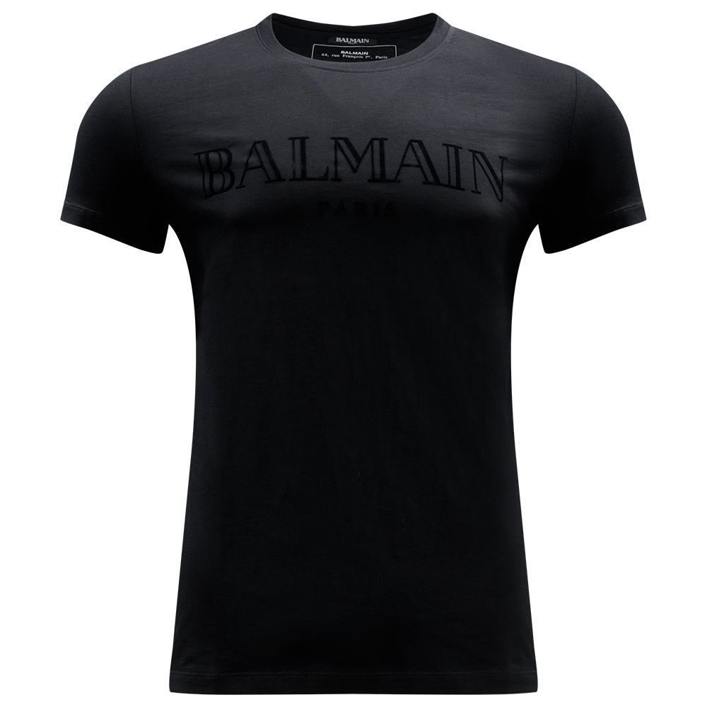 BALMAIN - Logo Embroidered T-Shirt