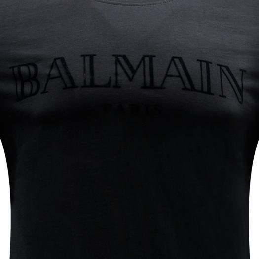 BALMAIN - Logo Embroidered T-Shirt