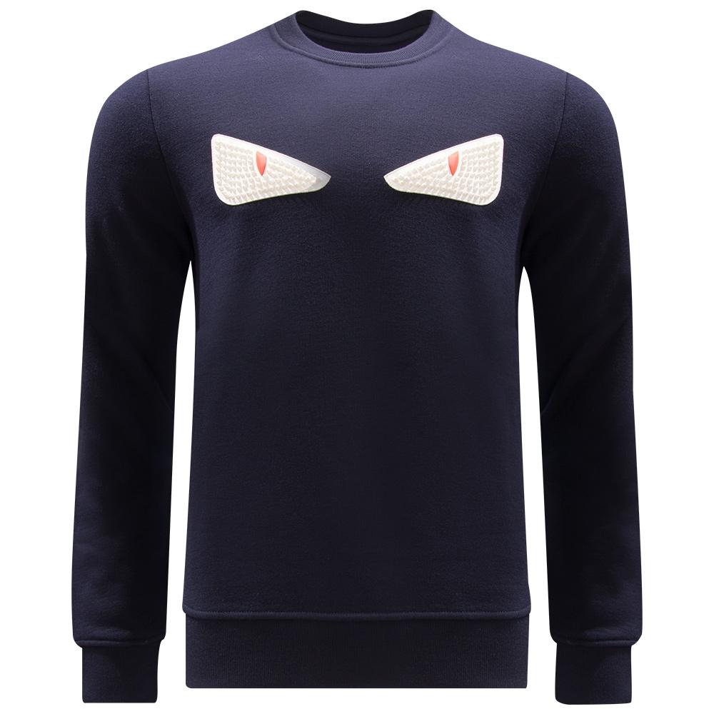 FENDI - Felpa Eyes Sweater