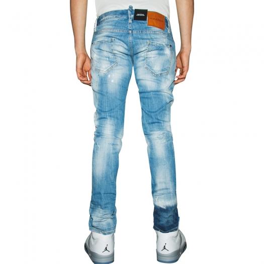DSQUARED2 - Light 1 Wash Skater Jeans