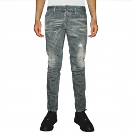 DSQUARED2 - Grey Wash Slim Jeans