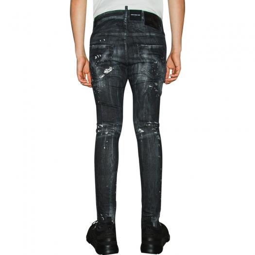 DSQUARED2 - Trash Black Wash Skater Jeans